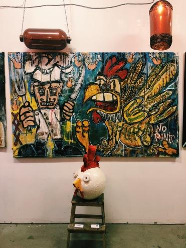 inside of @buonvink's atelier