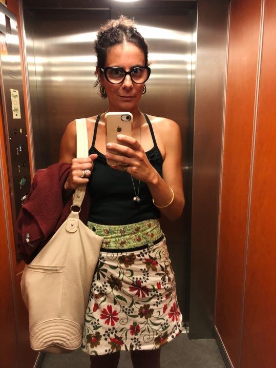 That good 'ol elevator selfie.