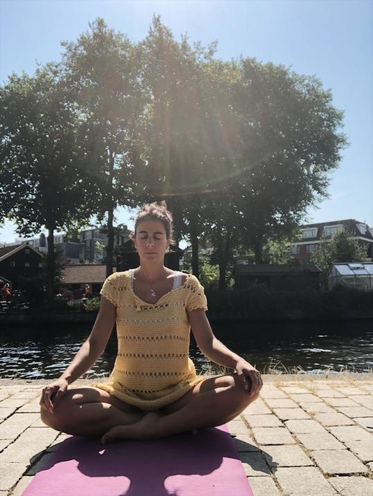 Meditation dress.